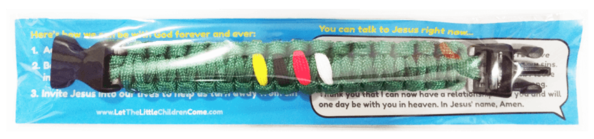 boys and mens christian bracelet descriptiona