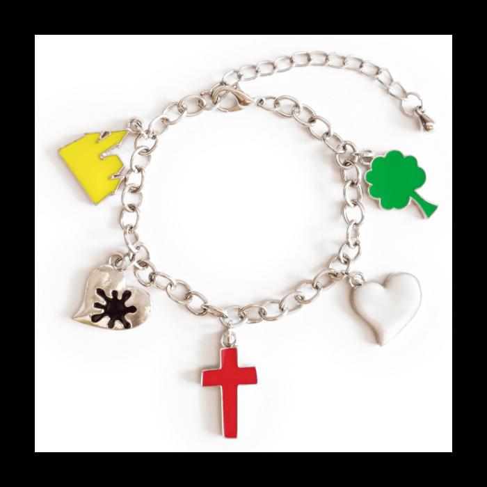 christian bracelet for girls 9180a