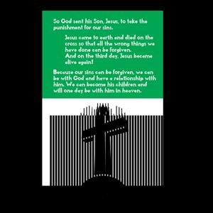 gospel tract 4601descriptiong