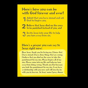 gospel tract 4601descriptionh