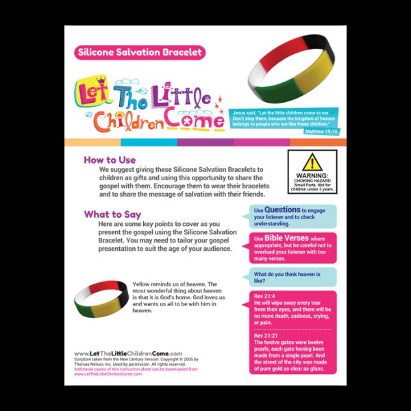 salvation bracelet for kids youths adults d