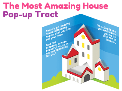 Children's Gospel Tract - The Most Amazing House
