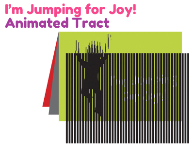 Children's Tract - I'm Jumping for Joy