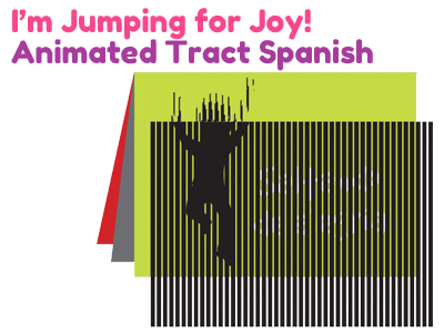Spanish Gospel Tract - I'm Jumping for Joy