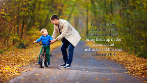 Bible Verses About Children Desktop Wallpaper Ephesians 6-4 Thumbnail