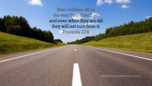 Bible Verses About Children Desktop Wallpaper Proverbs 22-6 Thumbnail