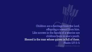 Bible Verses About Children Desktop Wallpaper Psalm 127-3-5 Thumbnail