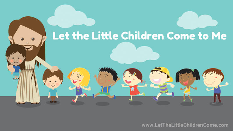 Let the Little Children Come to Me - Matthew 19:14, Mark 10:14 and Luke 18:16 in 6 different Bible Versions