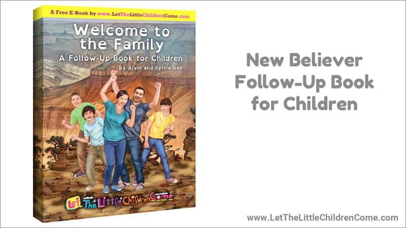 New Believer Follow-Up Book for Children
