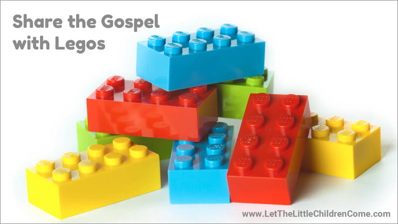 Share the Gospel with Wordless Legos