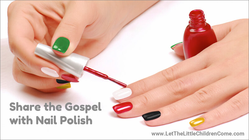 Share the Gospel with Wordless Nail Polish