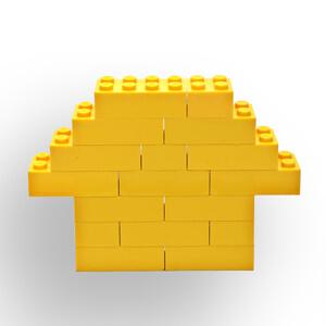Wordless Book Lego Gold