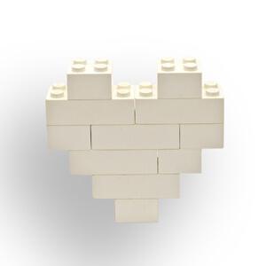 Wordless Book Lego White